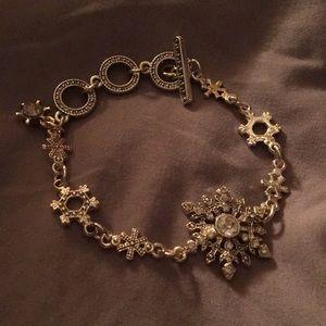 Jewelry - SNOWFLAKE CHARM BRACELET